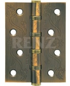 Петля ст. RENZ 100*75*2,5 4подш, FL б/колп., кофе DECOR FL 100-4BB FH CF